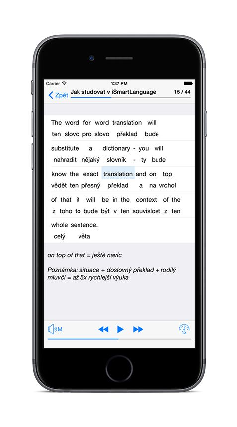 iOS: Application Preview